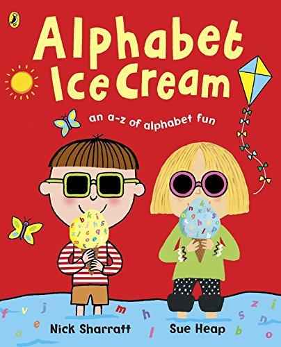 Alphabet Ice Cream: A fantastic fun-filled ABC (Charlie & Lola)
