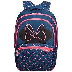 SAMSONITE Disney Ultimate 2.0 - Backpack Medium Mochila Infantil, 41 cm, 18.5 Liters, (Minnie Neon)