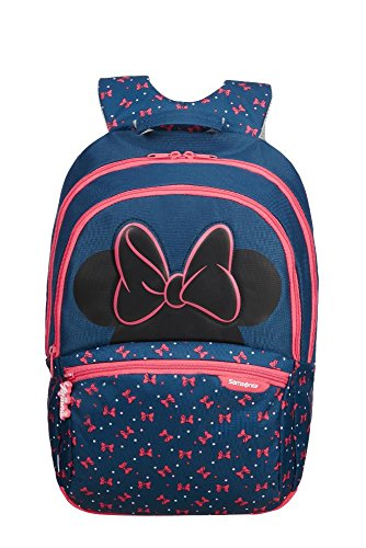 SAMSONITE Disney Ultimate 2.0 - Backpack Medium Mochila Infantil, 41 cm, 18.5 Liters, (Minnie Neon)