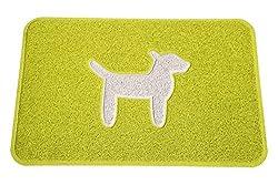 Smartcatcher Comfort Floor Mat Modern Dog Lemon Lime Cool White