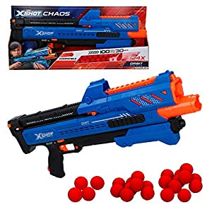X-Shot - Pistola de bolas gomaespuma X-Shot Chaos Orbit (46273)