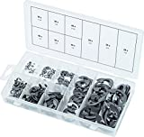 KS Tools 970.0320 - SAE E-Ring anillos de seguridad surtido, 340 pcs
