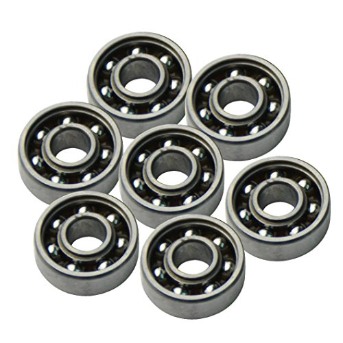 Preisvergleich Produktbild Tri Fidget Spinner Zubehör, Holeider Tri Spinner Fidget Hybrid Kugellager Stahl Ball 608 ZZ EDC Fidget Spielzeug 1PCS
