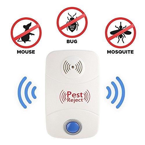 Ultraschall-elektronischer Schädlingsbekämpfer, menschliche Steuerung Neuestes verbessertes elektronisches Insekten-Wanzen-Abwehrmittel forMouse, Spinne, Insekt, Mäuse, Ameise, Hinterwelle, Moskitos