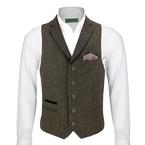 Xposed -  Gilet  - Uomo Brown Petto 52