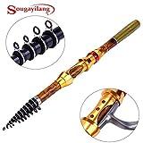 Generic White : Sougayilang Superhard Carbon Fiber Telescopic Fishing Rod Sea Fishing Pole