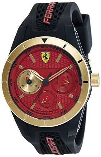 montre multifonction Scuderia Ferrari pour homme Redrev FER0830386 sportive cod. FER0830386