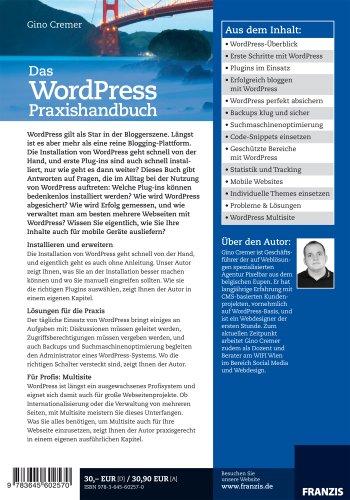 WordPress Praxishandbuch - Profiwissen für die Praxis: Installieren, absichern, erweitern und erfolgreich einsetzen - 2
