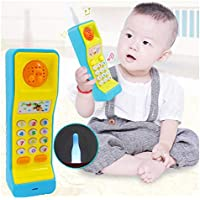 SaleOn Mobile Phone Toy Study Learn Words Sing Song Hobby Educational Gift for Kids (Mix-Colors)-1160