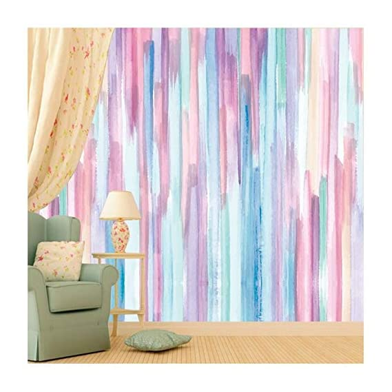 Paper Plane Design Wallpaper Vinyl Self Adhesive Wall Sticker Matte Water Proof (16 X 90 Inches, Multicolour)
