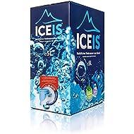 ICEIS – AGUA ALCALINA NATURAL (pH 8.8) DE UN GLACIAR EN ISLANDIA – CAJÓN DE 5 LITROS