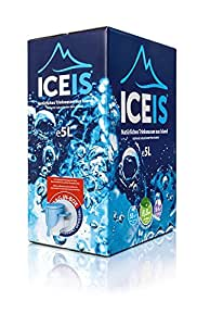iceis nat rliches alkalisches wasser ph wert 8 8 von einem gletscher in island 5l amazon. Black Bedroom Furniture Sets. Home Design Ideas