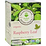 #6: Traditional Medicinals Organic Raspberry Leaf Herbal Tea - Caffeine Free - 16 Bags