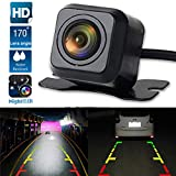 elegantstunning 170° Car Rear HD View Backup Reverse Parking Camera Night Vision CMOS Anti-Water