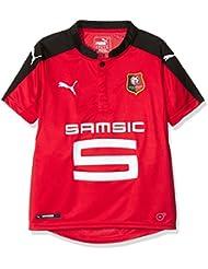 Puma-Camiseta para niño, diseño del equipo de fútbol de Rennes Identite: 10 años, color rojo (talla 140)