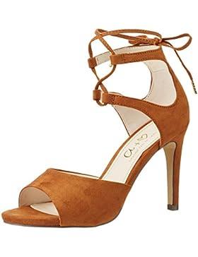 Another Pair of Shoes Damen Siennae1 Offene Sandalen mit Keilabsatz