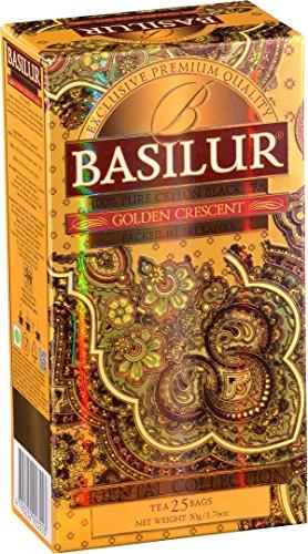 BASILUR Orient Golden Crescent Schwarzer Tee 25x2g - Crescent-kollektion
