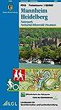 Mannheim Heidelberg: Naturpark Neckartal-Odenwald (Westblatt) (Freizeitkarten 1:50000 / Mit Touristischen Informationen, Wander- und Radwanderungen) -