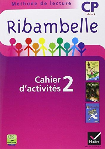Ribambelle CP Serie Violette ed. 2014 - Cahier d'Activites 2 + Livret d'Entrainement 2