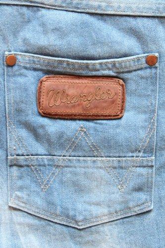 Wrangler Herren Jeans Relaxed Bleu