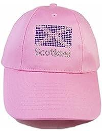 Scotland Flag Design Diamante Baseball Cap