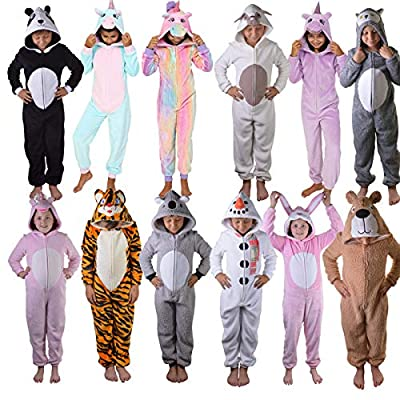 Dannii Matthews Limited Edition Womens and Kids Onesies, Luxury Soft All in One Jumpsuits from Kids Age 3/4 up to Womens Size 20 : everything five pounds (or less!)
