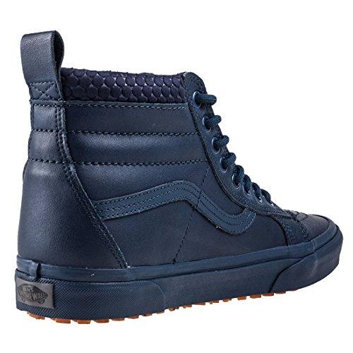 Vans U Sk8-hi, Sneakers Unisexe Robe Adulte Bleu