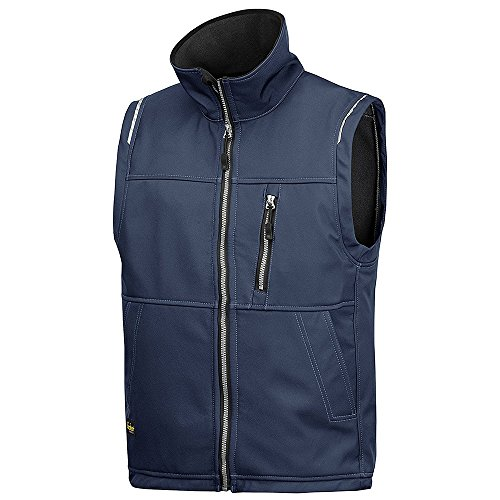 Snickers 45119500003 Gilet soft shell Taille XS Bleu Marin