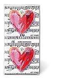 2x 10 Taschentücher Motiv Auswahl möglich Lovesong - Liebeslied