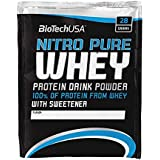 Biotech USA 10004050810 Nitro Pure Whey Protéine Saveur Caramel-Capuccino