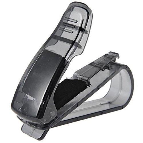 Ouneed® Auto Sunglasses Halterungen , Auto Sonnenblende Brillen Sonnenbrille Ticket Quittungskarte Clip Lagerung Halter