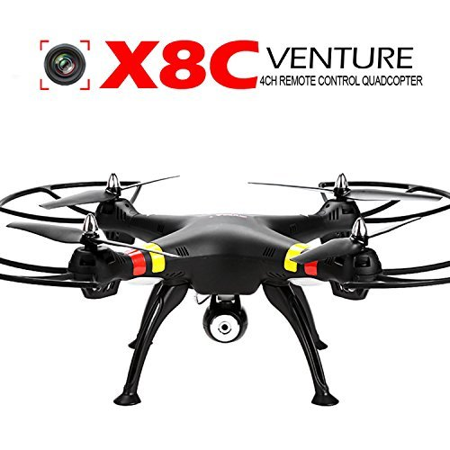 Arshiner Syma X8C Quadcopter Drone Aerial Photography With 2.0 MP Camera 2.4 GHz 6 Axis Black