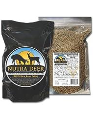 Nutra Deer PELLETS DE SALVADO DE ARROZ RICO 5 LB