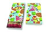 1 Packung Streichölzer Kaminhölzer Tropische Früchte Karibik 45 Stück in der Box