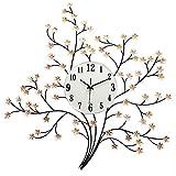 Flashing lights- Moderne Kunst Dekoration Mute Große Quarz Uhr Wanduhr Wohnzimmer Mit Einfachen Kreativen Uhren ( Farbe : Gewöhnlich )