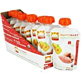 Nurture Inc. (Happy Baby), Etape 2 Simple Combos (6 + mois), Abricot & Patate Douce, 3.5 oz (99 g)