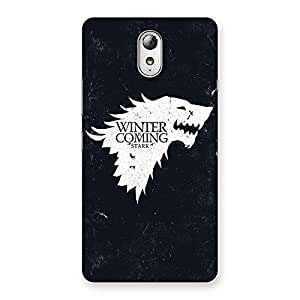 Special Games Of Winter Grey Back Case Cover for Lenovo Vibe P1M
