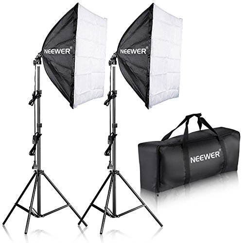 Neewer 700W Pro Fotografía Kit Iluminación Luz Softbox