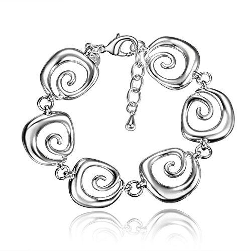 GESCHENKE für Frauen Armband versilbert Exquisite & Fancy Design für Mädchen