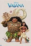 Grupo Erik MPGE0193 Mini Poster Disney Vaiana, carta, Multicolore, 40 x 50 cm