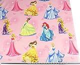 Disney Prinzessinnen rosa 100% Baumwolle Hochwertiger Stoff