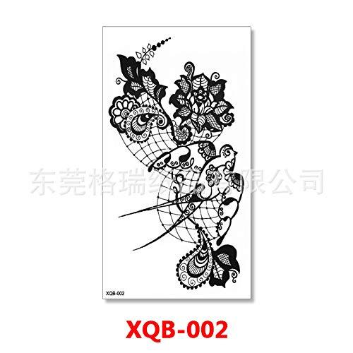 zgmtj Voller Arm Tattoo kleine Blume Arm Tattoo Aufkleber XQB-02 Größe: 114 * 210 mm