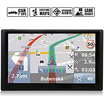 This Item Noza Tec  Inch Sat Nav Car Gps Navigation With Uk Ireland Europe Maps Free Lifetime Map Updatesgb