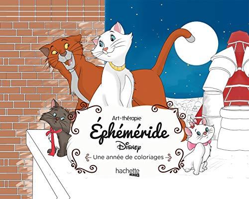 Art-thérapie Ephéméride Disney: Une année de coloriages