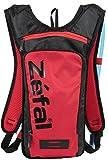 Zefal Z Hydro ciclismo/escursionismo zaino con 1.5L idratazione, unisex, Z Hydro, Red/Black, M