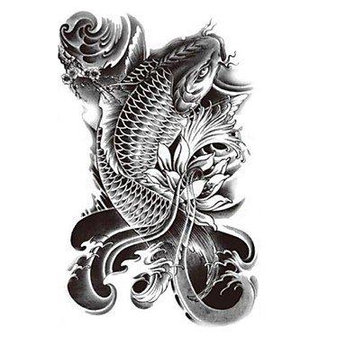 alallti-1-temporare-armband-tattoo-fisch-vs-wasser-vs-blume-big-wasserdicht-grosse-fake-tatoo-aufkle