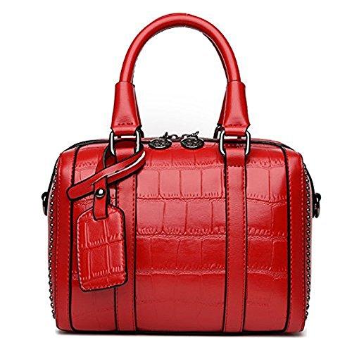 Meoaeo 2017 Nuova Moda Borsette Sacchetto A Cuscino Crossbody Bag Rivetti Borsa Per Portatile Nero gules