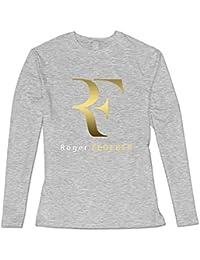 Ash Roger Federer Logo Casual T-shirts For Girlfriend XXXX-L