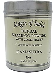 Magic of India Fragrance Sampoo Herbal Poudre avec revitalisant - Select Fragrance