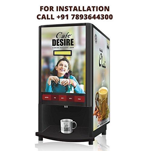 Cafe DESIRE Coffee and Tea Vending Machine - 2 LANE...